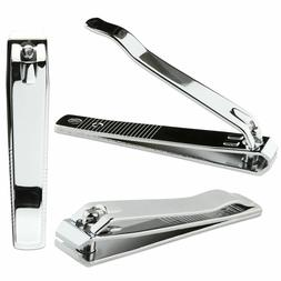 3pcs Beauticom Professional Stainless Steel Toe Nail Clipper