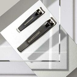 Tweezerman #4015-P Stainless Steel Nail Clipper Set for Fing