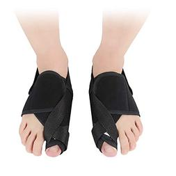 Daytime Nighttime Elastic Metal Plate Support Foot Cover Toe