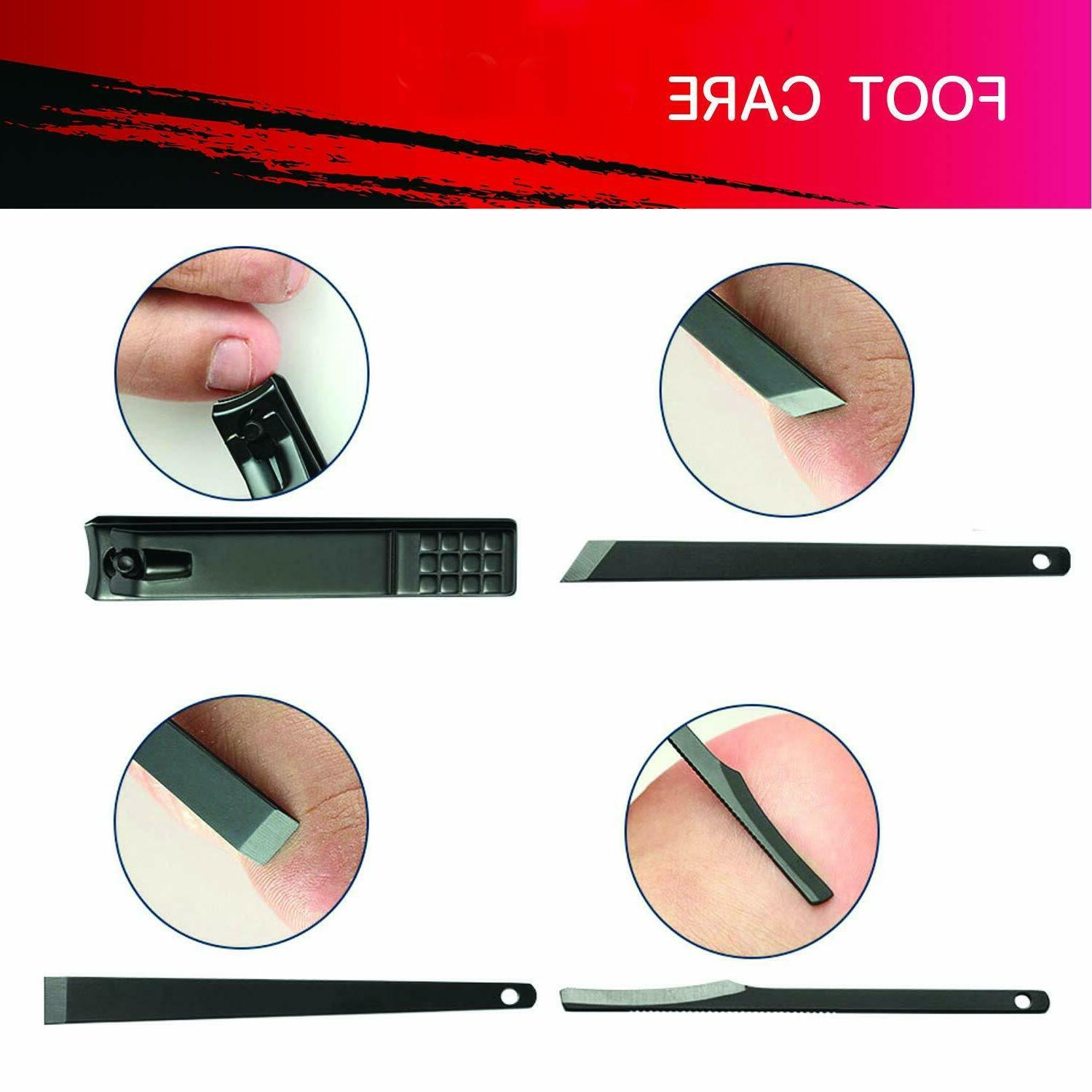 18PCS Set Pedicure Tools Professional Stainless Steel