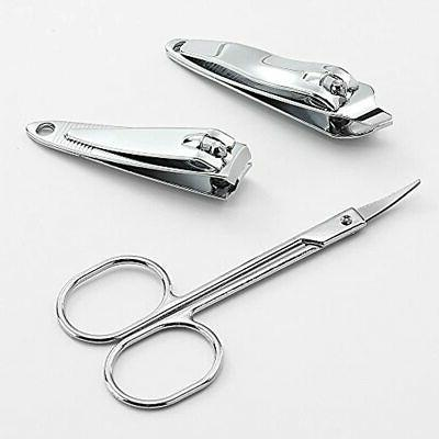 3 Pack 7Pcs Manicure Set, Stainless Clipper With Personal Kit