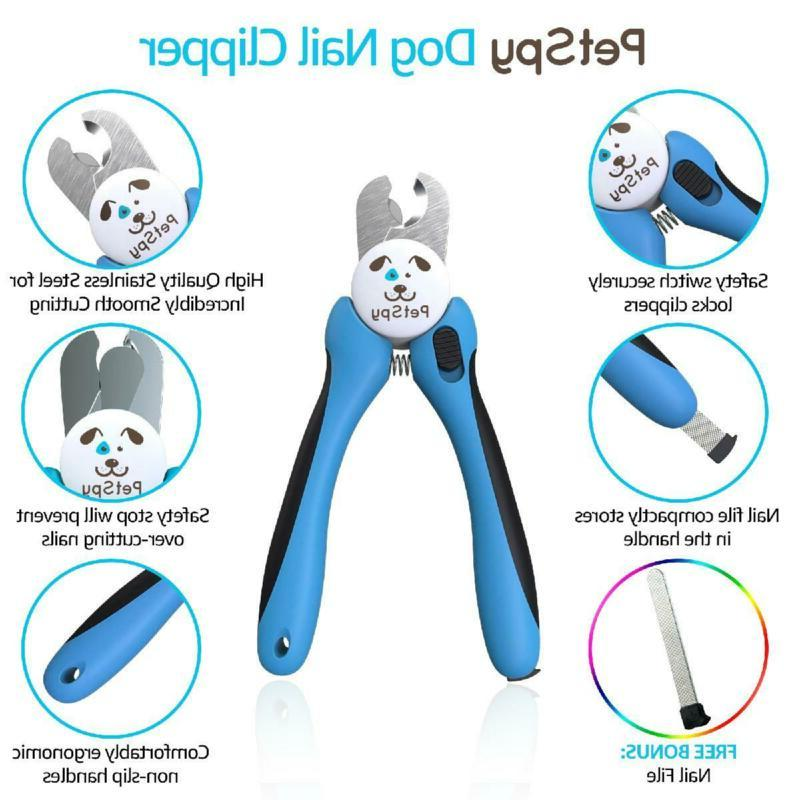 Dog Nail Trimmer with Quick Sensor- Safety Guard Overcutt