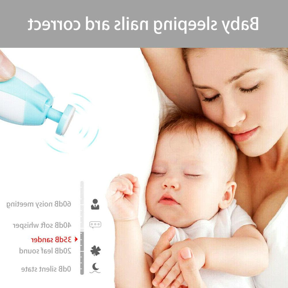Electric Baby Clippers Trimmer Trim Set