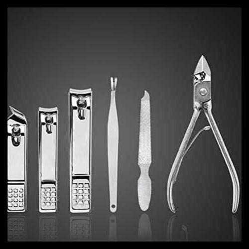 Manicure Set Nail Clippers Pedicure Kit PC Stainless