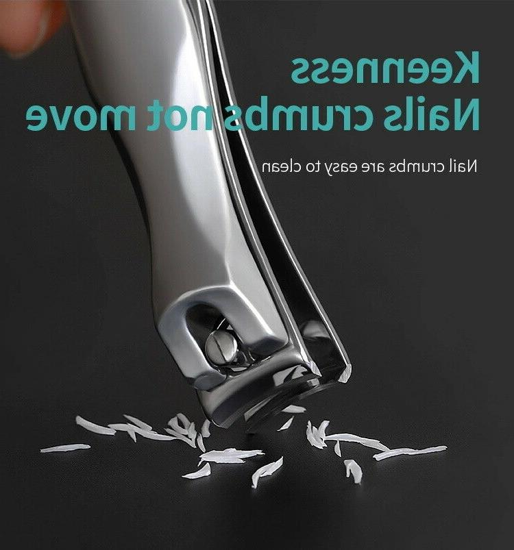 Professional Stainless Steel Nail Handle Clippers Trimmer Cutter
