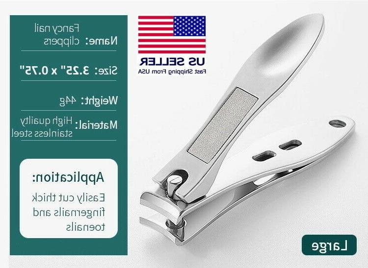 professional stainless steel finger nail toe handle