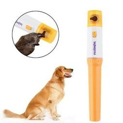 Pet Dog Electric Nail Clippers Grinder Automatic Grinding Tr