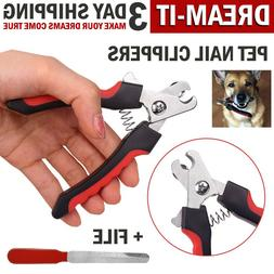 Pet Nail Clippers Claw Toe Paw Trimmer Scissor Grooming Tool