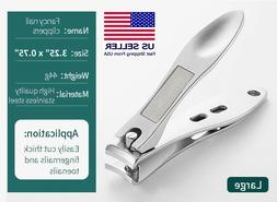 Professional Stainless Steel Finger Nail Toe Handle Clippers